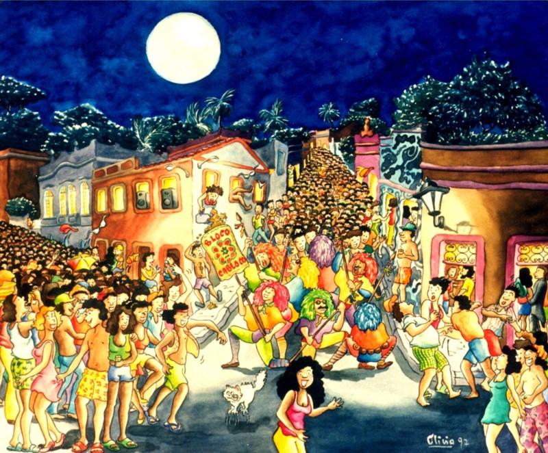 Resultado de imagem para carnaval- pintura
