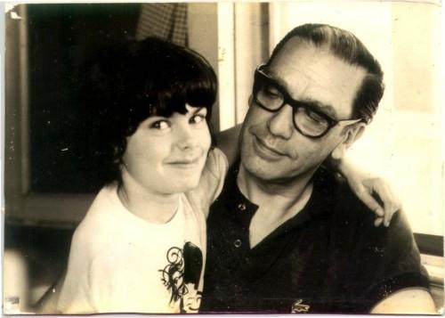 papá y Olivia