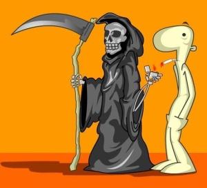 la muerte y el pucho